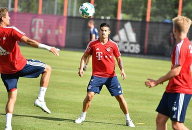 James se reintegra a los entrenamientos del Bayern