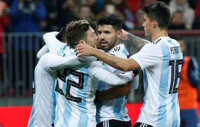 Nigeria examina a una Argentina sin Messi