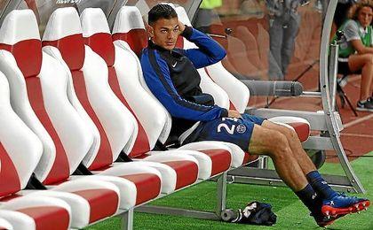 Ben Arfa no juega con el PSG desde el mes de abril.