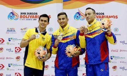 Colombia, Venezuela y R. Dominicana se reparten los oros en gimnasia