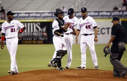Los Gigantes vencen a los Toros y son líderes en solitario en el béisbol dominicano