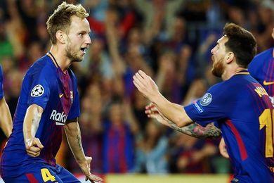 Messi y Rakitic se reincorporan a los entrenamientos