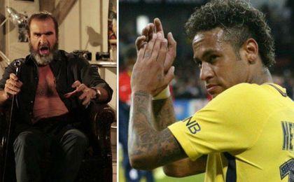 "Cantona: ""No sé a qué ha venido Neymar a Francia"""