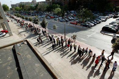Colas en Mestalla para comprar entradas del Valencia-Barcelona