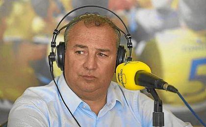 Miguel Ángel Ramírez, presidente de Las Palmas, en UD Radio.