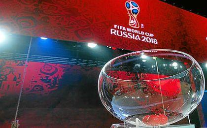 Así quedan los bombos del Mundial de Rusia
