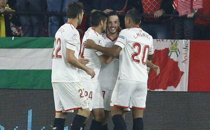 Sevilla FC 2-1 Celta: Mientras busca su fútbol, gana