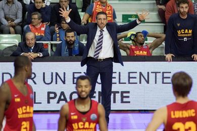 El UCAM busca ante el Bilbao poner fin a su racha de 5 derrotas seguidas