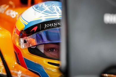 """Alonso, satisfecho tras el test con Toyota: """"Ha sido un día fantástico"""""""