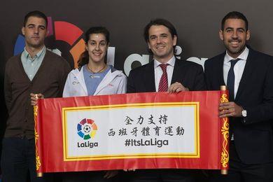 Carolina Marín califica 2017 de gran año tras recuperarse de su lesión