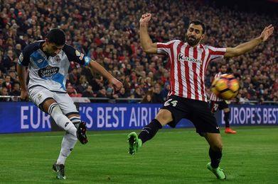 El Deportivo cedió puntos en 3 de las 4 últimas visitas del Athletic a Riazor