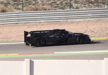 Fernando Alonso tiene la primera toma de contacto con el Ligier en Motorland