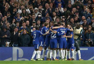 0-4. Hazard y Willian derriban el muro azerí y meten al Chelsea en octavos