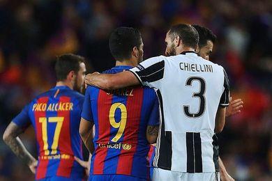 Chiellini se perderá el Juventus-Barcelona por una lesión muscular