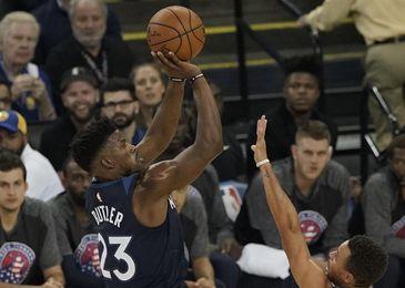 124-118. Butler conduce a los líderes Timberwolves que hunden a los Magic