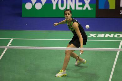 Carolina Marín abandona contra la canadiense Li por dolores en la cadera