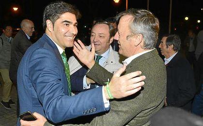 Ángel Haro, a su llegada a la junta verdiblanca