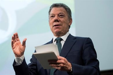 Santos dice que carrera de ciclismo colombiana tendrá 25 equipos del mundo