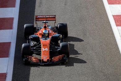 """Alonso: """"Entre el 10 y el 11 prefiero éste, para elegir neumáticos"""""""