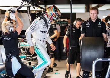 Hamilton el más rápido en el último libre; Alonso, séptimo y Sainz, noveno