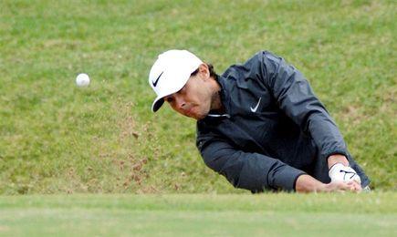 Rafa Nadal gana a Olazabal la quinta edición de su torneo solidario de golf