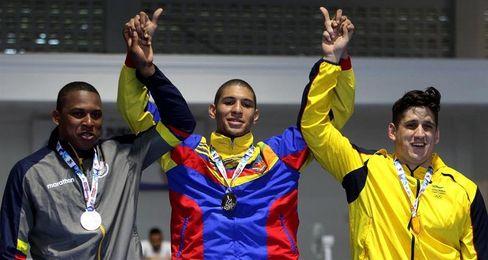 Venezolano Luis Álvarez gana oro en jornada dorada de Colombia en taekwondo