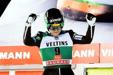 El esloveno Jernej Damjan logra en Ruka su segundo triunfo en Copa del Mundo