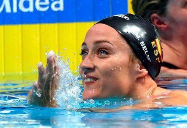 Mireia Belmonte, al frente del equipo español en los Europeos de Copenhague