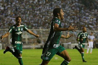 El Palmeiras sube a la segunda plaza del Brasileirao y complica al Botafogo