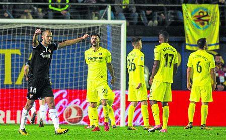 El Villarreal es el tercer equipo al que el Sevilla levanta un marcador, tras el Liverpool y el Celta.