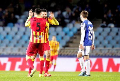 2-3. El Lleida remonta tres goles y apea a la Real Sociedad de la Copa