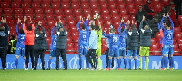 0-1. El Formentera logra el milagro en San Mamés en la última jugada