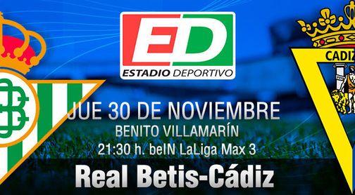 Betis-Cádiz: A por una Copa que no quede en resaca