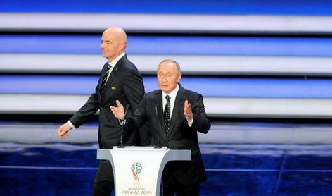 Infantino anima a los aficionados a viajar a Rusia en 2018