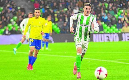 Tello, junto a Boudebouz, fue el mejor del Betis.