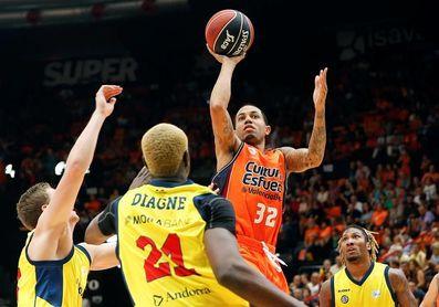El Valencia recibe al Andorra con objetivo de evitar trasladar la mala racha a la ACB