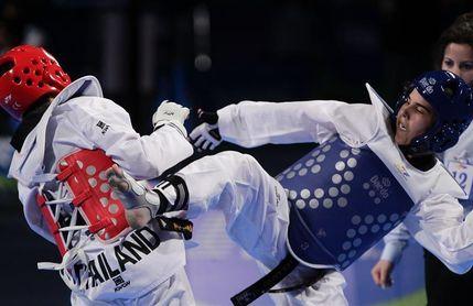 Solo la bicampeona olímpica puede con Marta Calvo en Abiyán