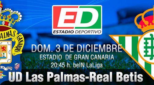 Las Palmas-Real Betis: Que no sea otro ´Día de la Marmota´.