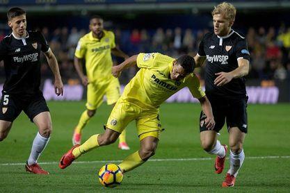 Bacca sufre una elongación en el bíceps femoral, pero podría jugar ante el Barcelona