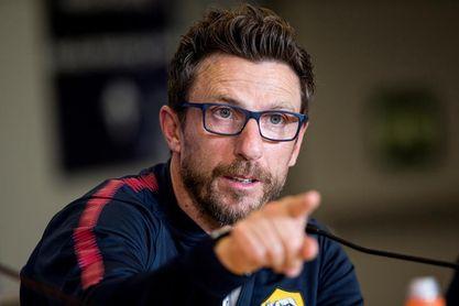Di Francesco pide al Roma que piense en Qarabag y no en el Chelsea-Atlético