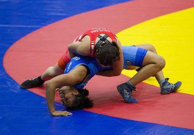 Nicaragua y Honduras se reparten dos oros en la lucha femenina