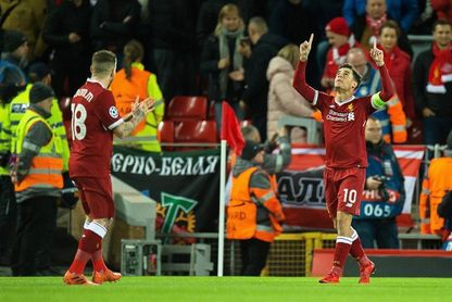 7-0. El Liverpool logra el quinto billete inglés para octavos con una goleada