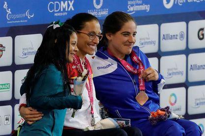 Teresa Perales y Oscar Salguero suman dos oros en una jornada con 12 medallas