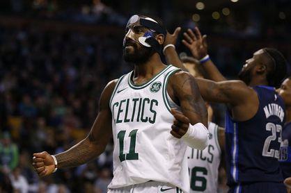 97-90. Ante los Mavericks, Irving y los Celtics amplían su racha triunfal