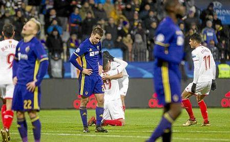 Ganso celebra su gol ante el Maribor.
