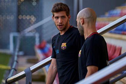 Sergi Roberto recibirá el Premio Barça Jugadores de la temporada 2016-17