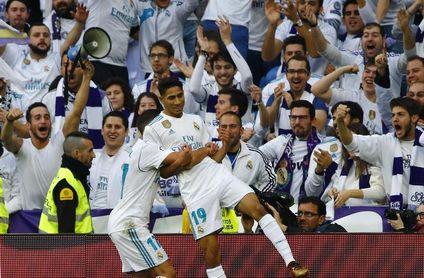 Achraf, autor del primer gol marroquí en la historia del Real Madrid