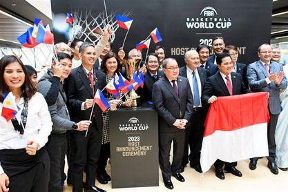 Filipinas, Japón e Indonesia serán la sede del Mundial 2023