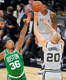 Los Spurs dan una lección a los Celtics; Durant como líder; los Pacers ganan a los Cavaliers