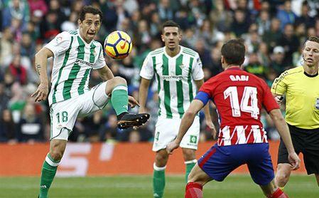 Betis 0-1 Atlético: Con tanta voluntad como impotencia